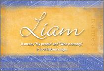 Name Liam