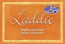 Name Laddie