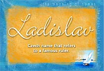 Name Ladislav