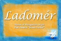 Name Ladomér