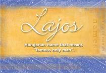 Name Lajos