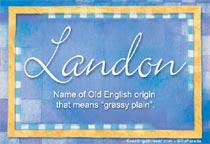 Name Landon
