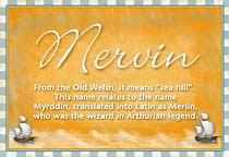 Name Mervin