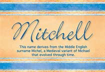 Name Mitchell