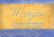 Name Morgan