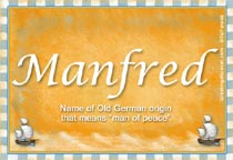 Name Manfred
