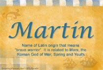 Name Martin