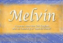 Name Melvin