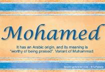 Name Mohamed
