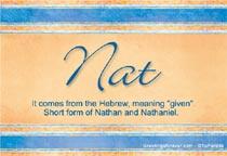 Name Nat
