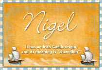 Name Nigel
