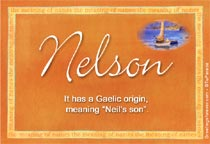 Name Nelson