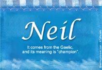 Name Neil