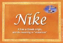 Name Nike