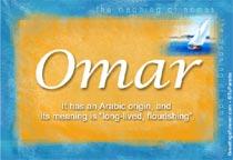 Name Omar