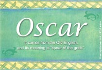 Name Oscar