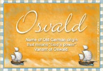 Name Osvald
