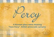 Name Percy