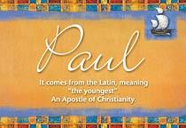 Name Paul