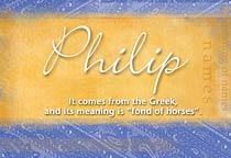 Name Philip