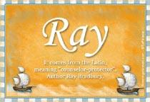 Name Ray