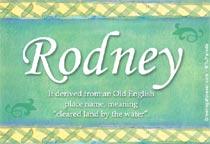 Name Rodney