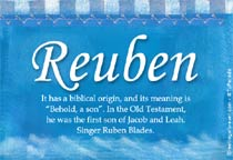 Name Reuben