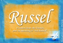 Name Russel