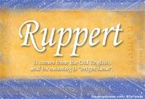 Name Ruppert