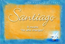 Name Santiago