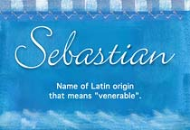 Name Sebastian
