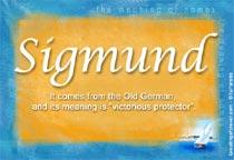 Name Sigmund