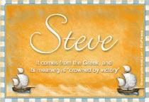 Name Steve