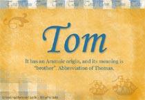 Name Tom