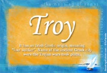 Name Troy