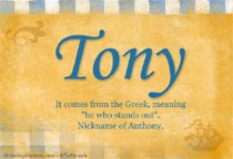 Name Tony