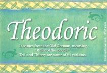 Name Theodoric