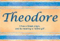 Name Theodore