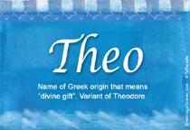 Name Theo