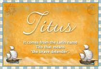 Name Titus