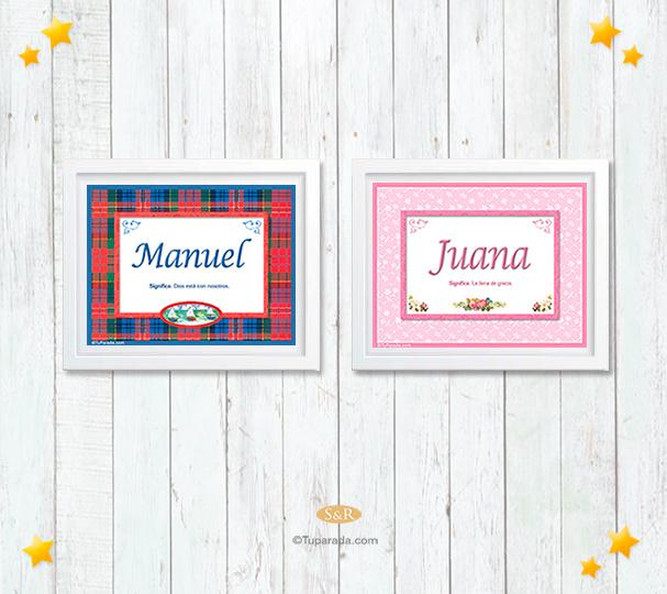 Diseño de nombre escocés