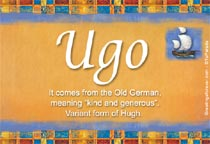 Name Ugo