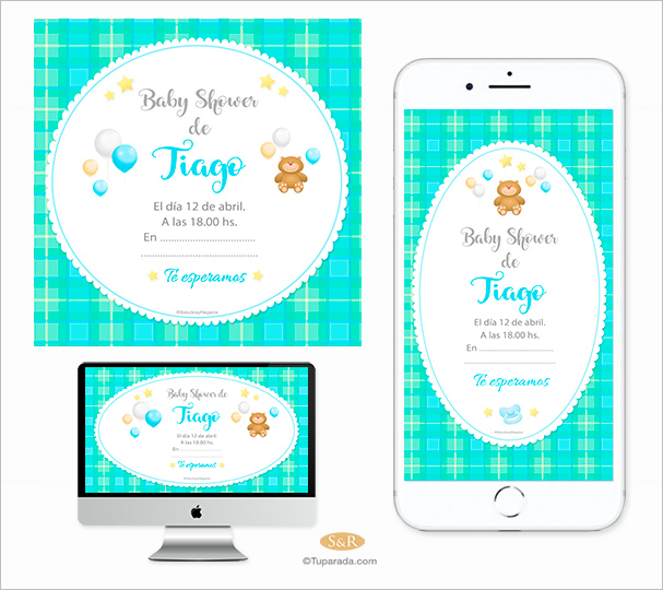 Baby Shower: Little bear