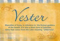 Name Vester