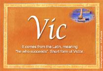 Name Vic