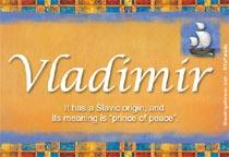 Vladimir Name Meaning - Vladimir name Origin, Name ...