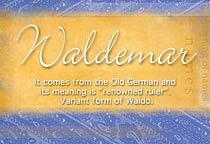 Name Waldemar