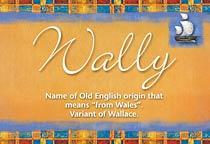 Name Wally
