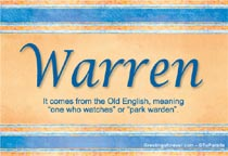 Name Warren