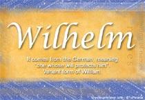 Name Wilhelm